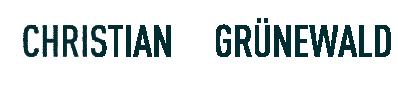 Mag.sc.hum. Christian Grünewald Logo
